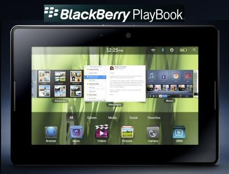 blackberry playbook tablet pc. Blackberry Playbook Preview: